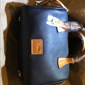 Brand new Dooney& Bourke large leather satchel bag